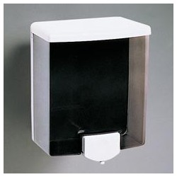 Surface-Mounted Liquid Soap Dispenser, 40-oz., Translucent