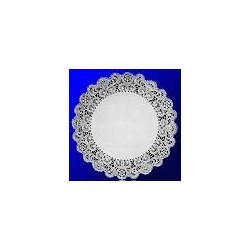 "Paper Doilies,  8"" Round, French Lace"