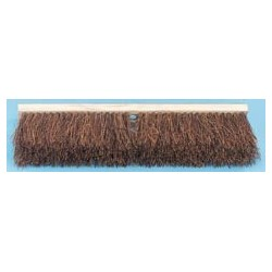 Palmyra Fiber Floor Brush Push Broom, 18""