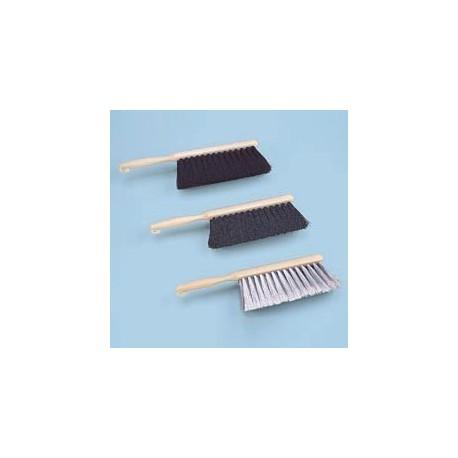 Counter Brush, Gray Flagged Bristle, Plastic Handle