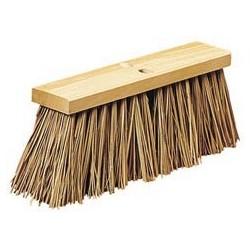 """Street Broom Palmyra Bristles, 16"""""""
