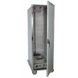 Economy Cabinet, Mobile Heater/Proofer, Insulated, 34-pan, Solid Door
