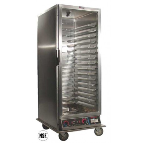 Cabinet, Mobile Heater/Proofer, Insulated, Universal, Clear Door