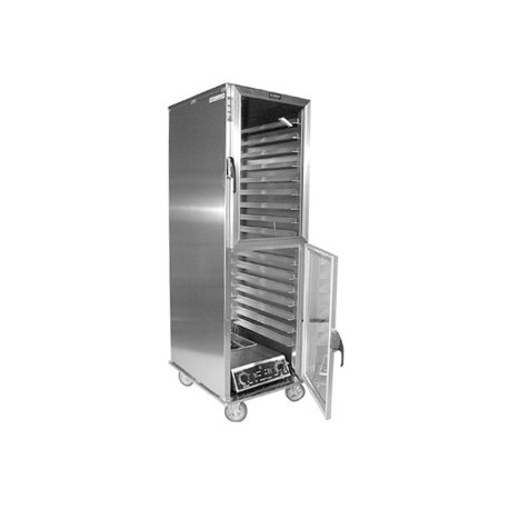 Cabinet, Mobile Heater/Proofer, Non-Insulated, Universal, Clear Dutch Doors