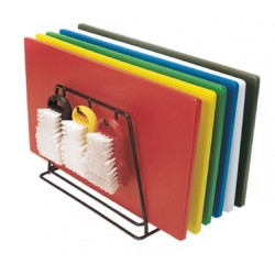 "Color Coded Cutting Board Set, 18"" x 24"""