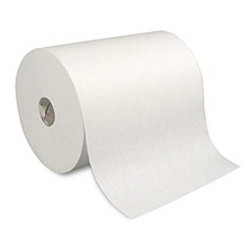 "Touchless White Dispenser Roll Towels, 10"" x 800'"