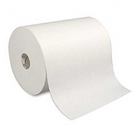 """Touchless White Dispenser Roll Towels, 10"""" x 800'"""