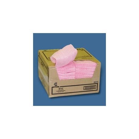 "Chix Wet Wipes, Pink & White 13-1/2"" x 21"""