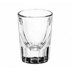 1 1/4-oz. Flutted x No Line, Shot Glasses