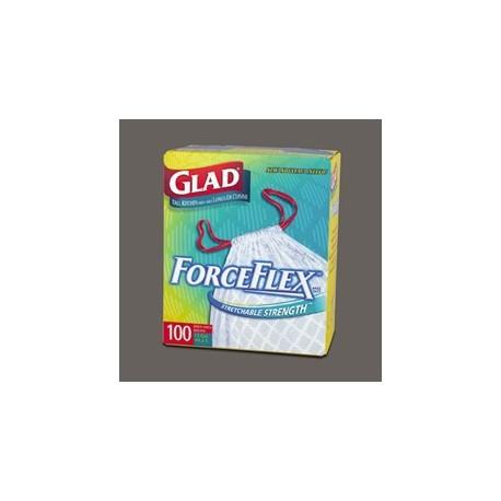 13-Gallon  Glad ForceFlex Tall Kitchen Bags