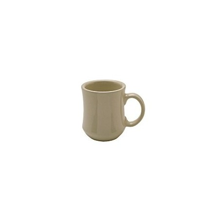 China Mug, 7-1/2 oz., bell shape, Dover White