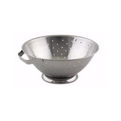Colander 5 Quart, Stainless
