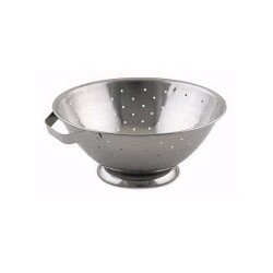 Colander 8 Quart, Stainless
