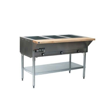 """Steam Table, 3-Hole, Electric, 48"""", 120-Volt"""