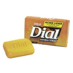 Dial Antibacterial Bar Soap, 3.5-oz. Wrapped