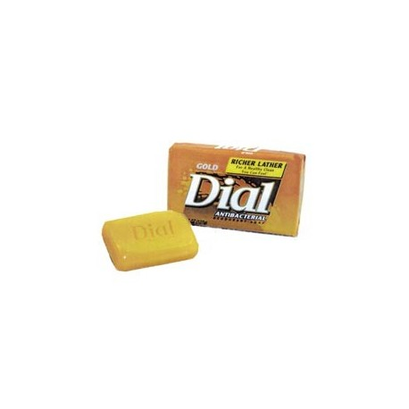 Dial Antibacterial Bar Soap, 3.5-oz. Wrapped