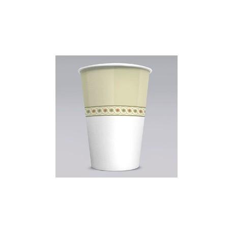 Paper Cold Cups, Sage Collection Design. 16-oz. Size