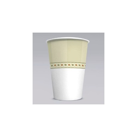 Paper Cold Cups, Sage Collection Design. 5-oz. Size
