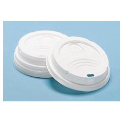 Plastic Dome Lids for Hot Cups, For 8-oz.