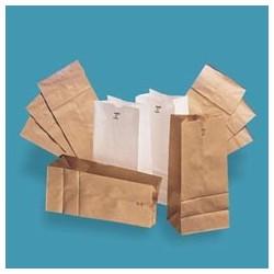 White Standard Duty Paper Bags 16-lb