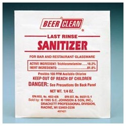 Beer Clean Last Rinse Sanitizer