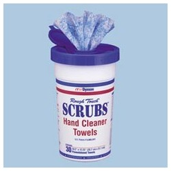 SCRUBS Hand Cleaner Towels 30Count Canister