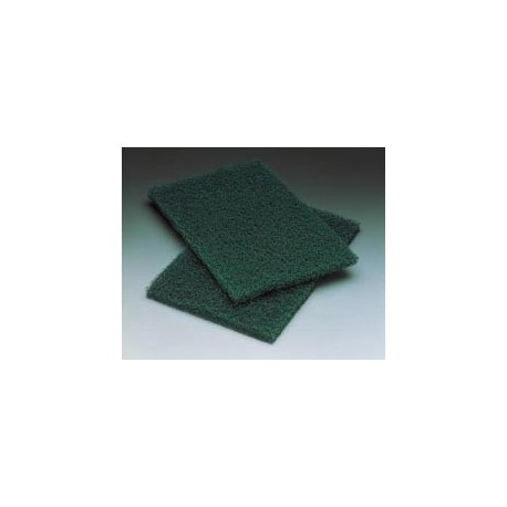 Heavy Duty Commercial Scouring Pad, Green