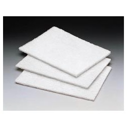 Light Duty Cleansing Pad, White
