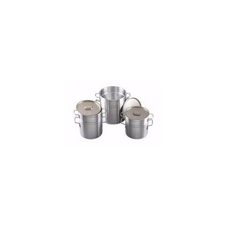 Aluminum Double Boiler 11 Quart