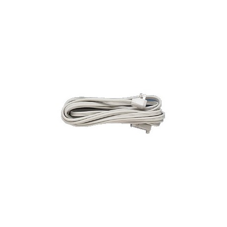 Heavy Duty Outlet Cord, 14 Gauge, 15 Amp, 9 Feet, Gray - Metro ...