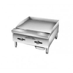 Griddle, Countertop, Manual, Gas, 18""