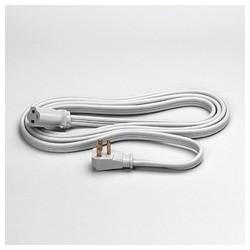 Indoor Heavy Duty Extension Cord, 14 Gauge, 15 Amp, 15 Feet, Gray