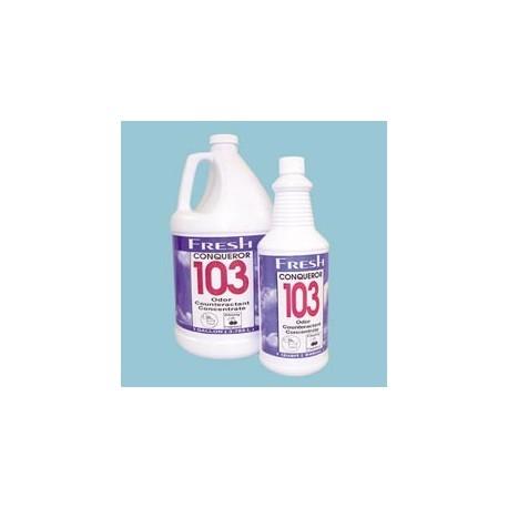 Conqueror 103 Odor Counteractant Concentrate, Tutti-Frutti, Gallons