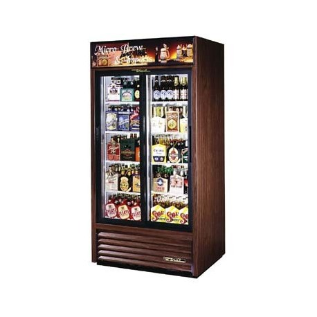 Refrigerated Merchandiser, Two-Section, 33 cu. ft.