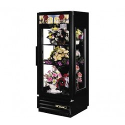 Glass End Floral Merchandiser, One-Section, 12 cu. ft.