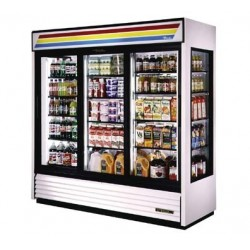 Glass End Merchandiser, two-section, 69 cu.ft.