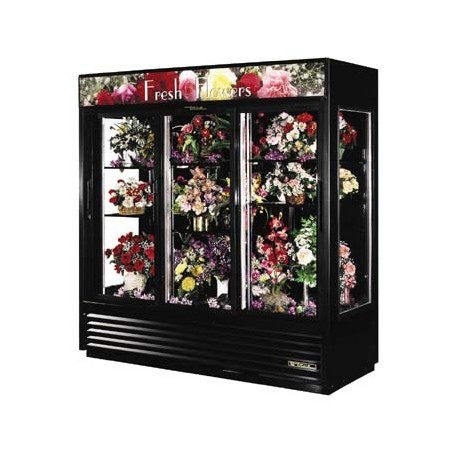 Glass End Floral Merchandiser, two-section, 69 cu. ft.