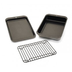 Compact Ovenware Baking And Grilling Set, 3 Piece
