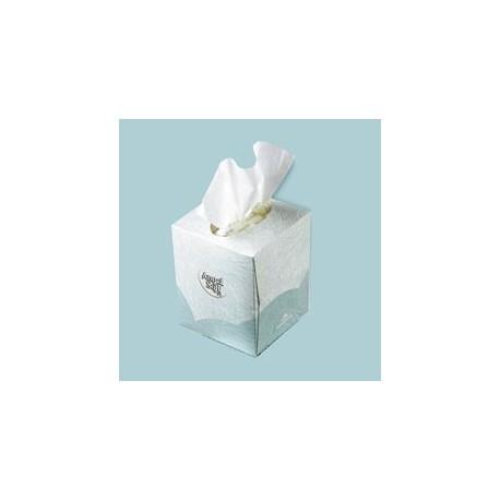 Angel Soft PS Facial Tissue Cube Box