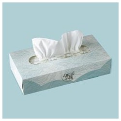 Angel Soft PS Facial Tissue Flat Box