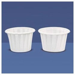 Pleated Souffles Cups, 3/4-oz.