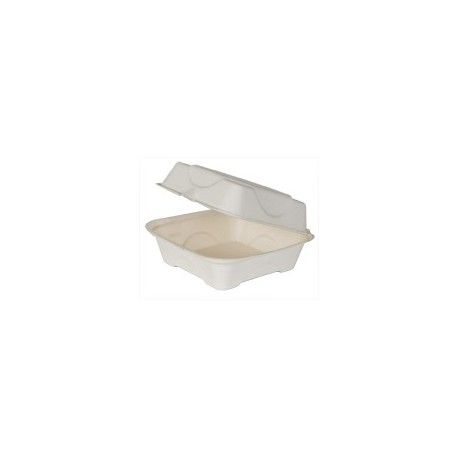 Sandwich Empress Carryout Container, Compostable, 1-Compartment