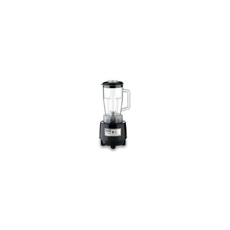 Commercial Bar Blender, 48 oz. Poly Container, 1 Hp