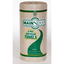 Basic Tan Kitchen Roll Towel,  2 Ply