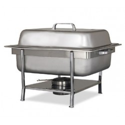 Chafer Unit, Stainless Steel, Half Size