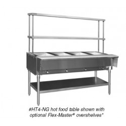 Steam Table, Gas,  63 in.