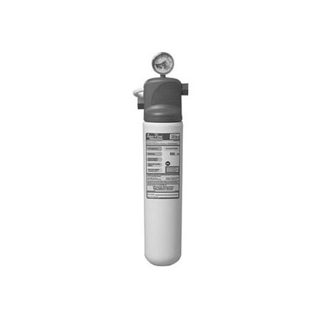 Water Filter System w/gauge, Single Vessel, For Sediment, For Ice Machines, Cuno