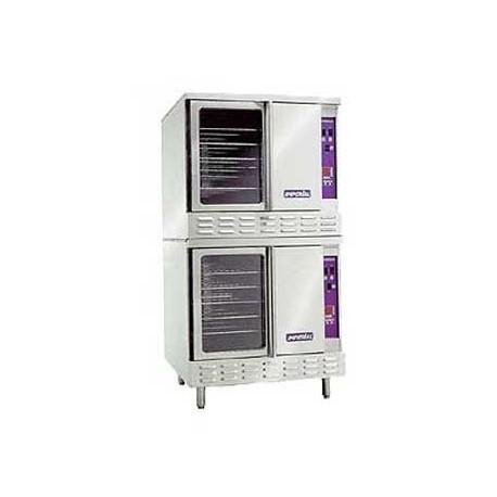 Turbo-Flow Convection Oven, Gas, Double Deck