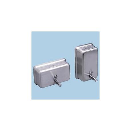 Stainless Steel Soap Dispenser, Vertical, 40-oz.