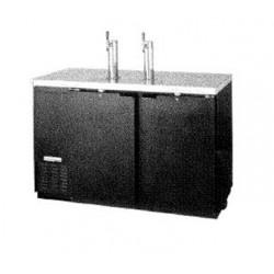 "Draft Beer Cooler, 59"", 3-Keg, Black"